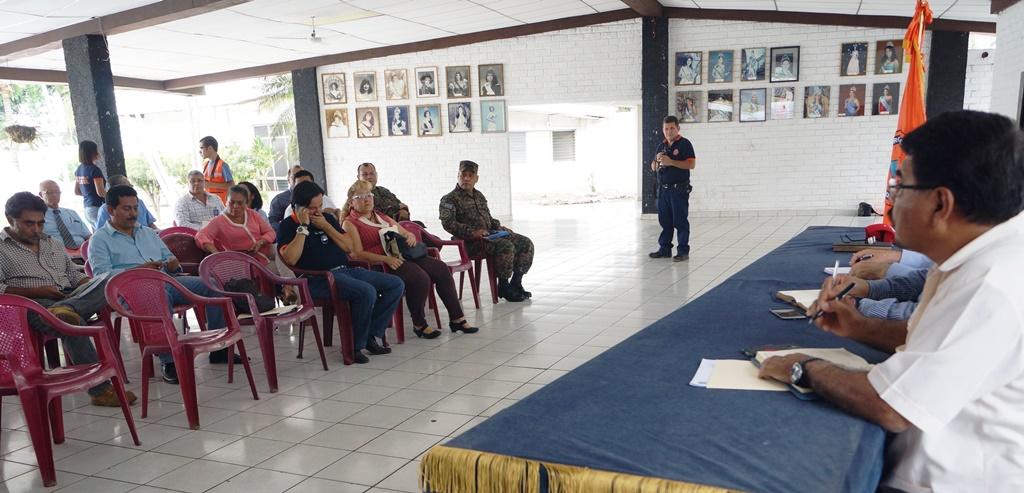 Protección Civil se reúne con representantes de Zona Occidental para ...