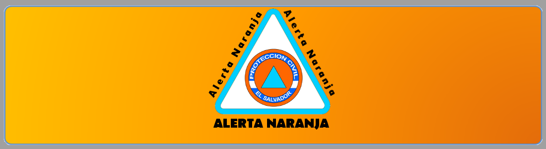 Alerta Naranja en la zona costera y cordillera volcánica y Alerta Amarilla en el resto del país por acumulación de humedad y continuidad de lluvias fuertes                        MARTES,  15/OCTUBRE/2019