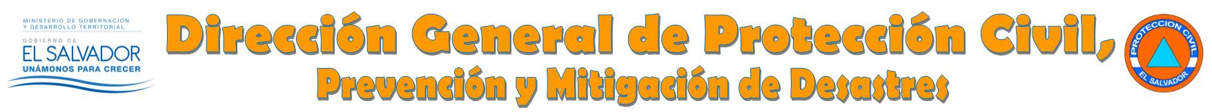 Dirección General de Protección Civil, Prevención y Mitigación de Desastres
