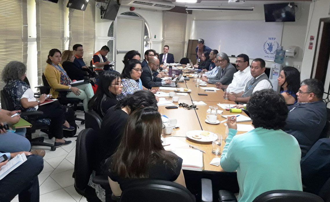 Dirección General de Protección Civil se reunió con Equipo Humanitario de País El salvador para establecer posibles apoyos ante emergencias  28/NOV/2017