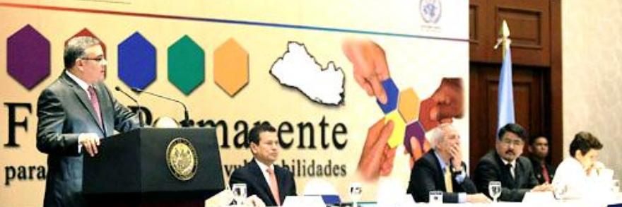Presidente Funes: El gobierno está comprometido con la reducción de la vulnerabilidad
