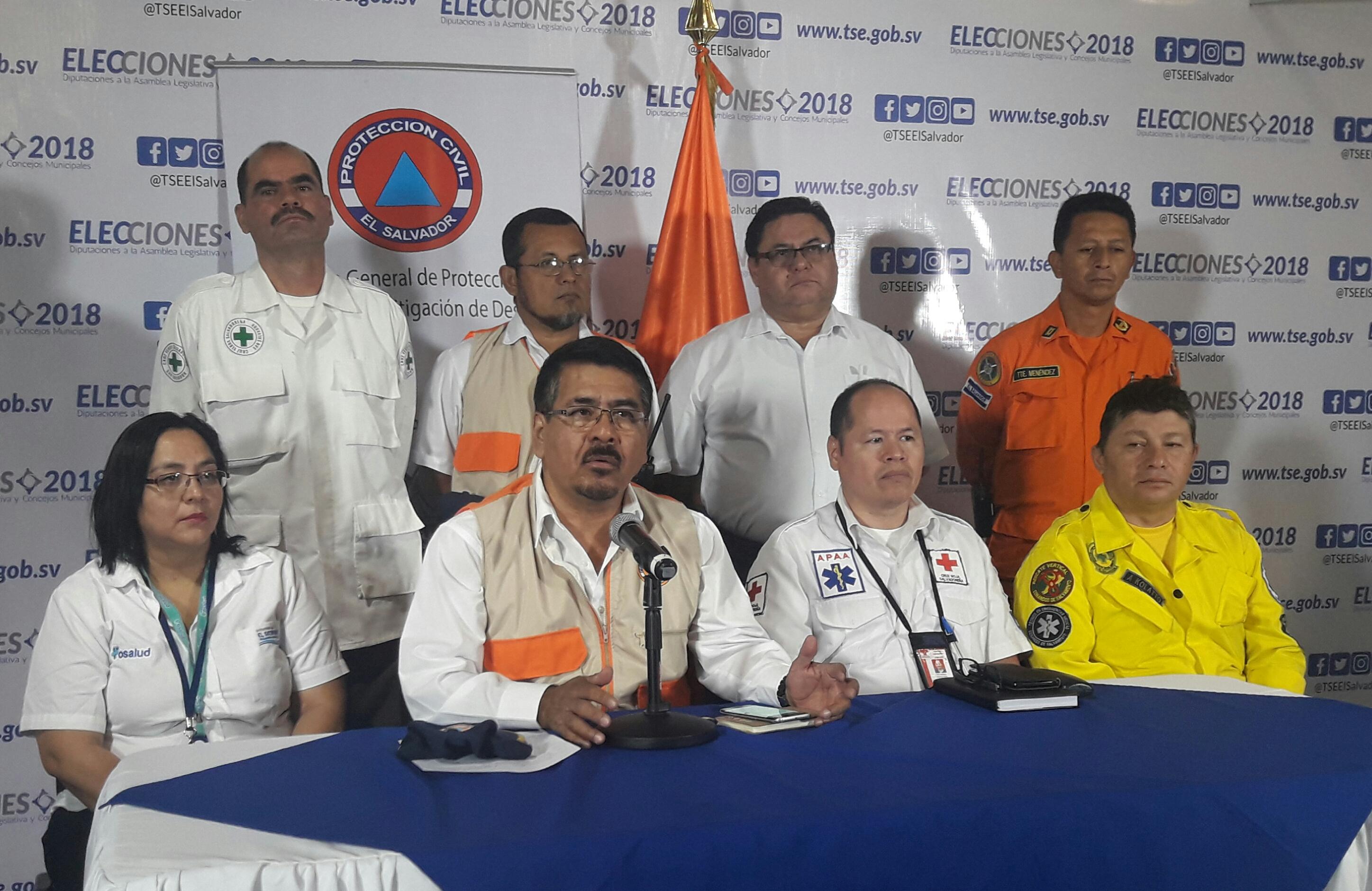 Dirección General de Protección Civil presenta informe preliminar Operación Elecciones Seguras 2018       04/MARZO/2018
