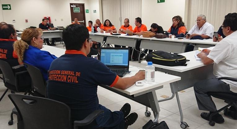Dirección General de Protección Civil evaluó ejercicio de Simulacro ante Terremoto     09/NOVIEMBRE2018