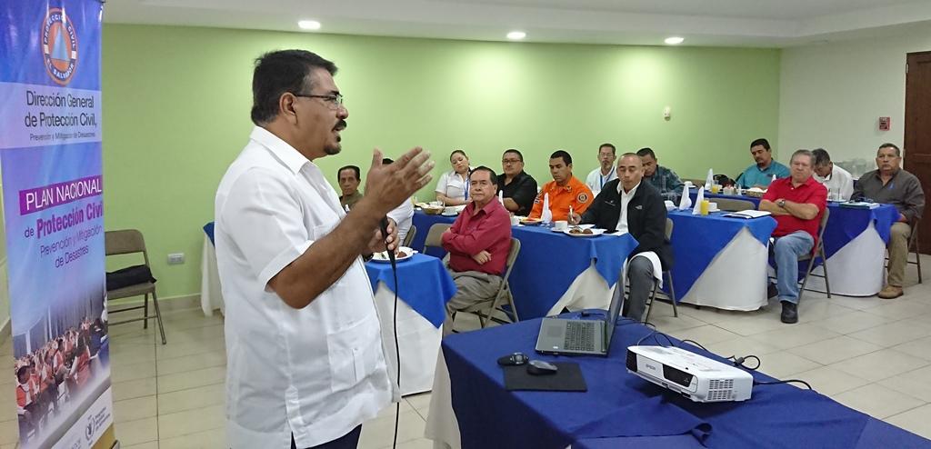 Comisiones Departamentales de Protección Civil región Central, Paracentral y Occidental fortalecen capacidades sobre la preparación ante emergencias   13/FEBRERO/2019