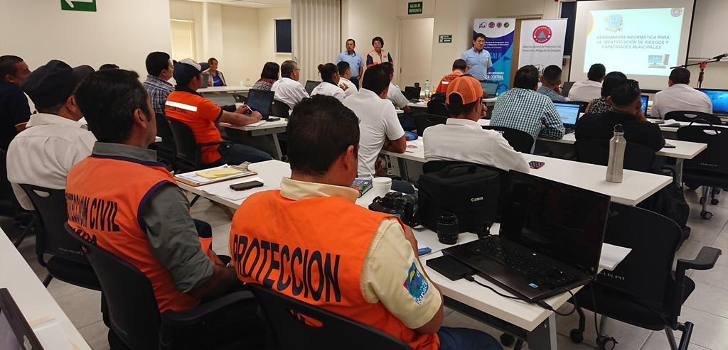 Comisiones Municipales de Protección Civil conocen la Herramienta Informática para la Identificación de Riesgos y Capacidades Municipales     20/FEBRERO/2019
