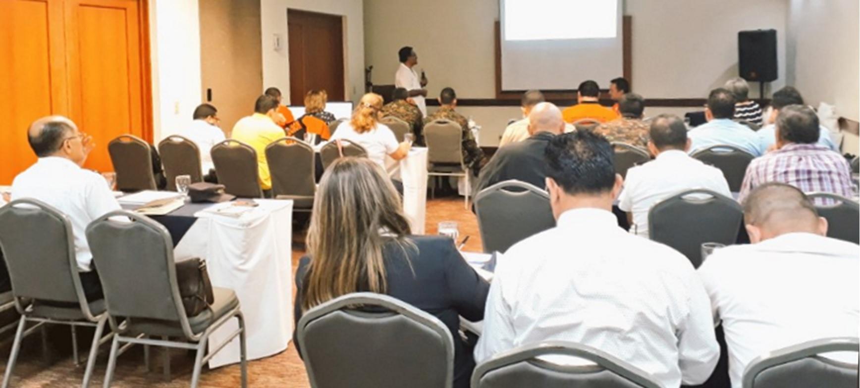 Comisiones Departamentales de Protección Civil región Oriental fortalecen capacidades sobre la preparación ante emergencias   12/FEBRERO/2019