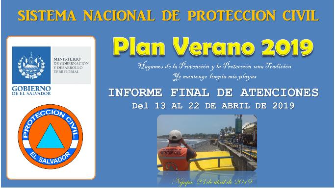 Informe Final de Plan Verano 2019