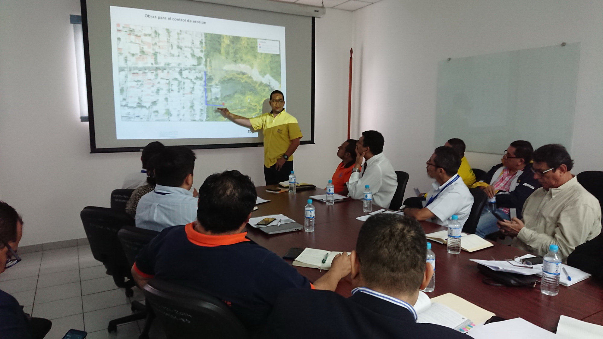 Seguimiento situación cárcava de colonia Santa Lucía del municipio de Ilopango         07/JUNIO/2019