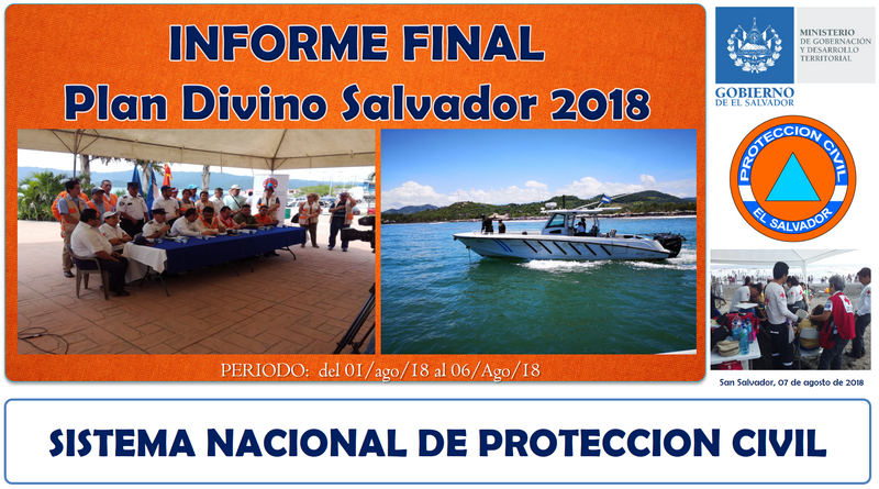 Plan Divino Salvador 2018 - Informe Final